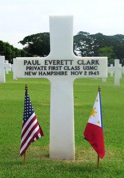 PFC Paul Everett Clark