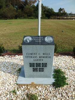 Climent C Mills Veterans Memorial Garden