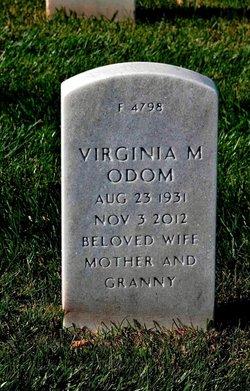 Virginia M <I>Corley</I> Odom