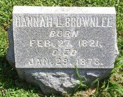 Hannah Lee <I>Ridgely</I> Brownlee