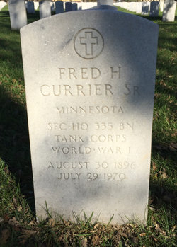 Fred Haskell Currier, Sr