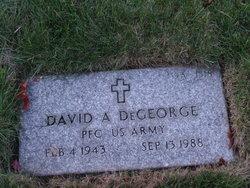 David A Degeorge