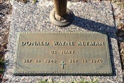 Donald Wayne Altman