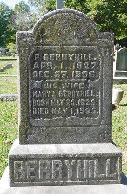 Mary Ann <I>Taylor</I> Berryhill