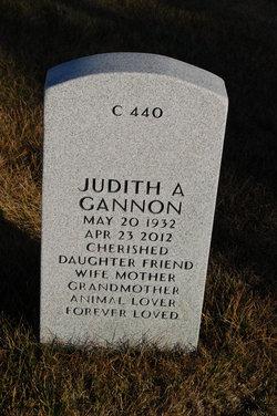 "Judith A ""Judy"" <I>Hedberg</I> Gannon"