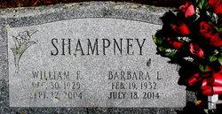 "William F ""Bill"" Shampney"