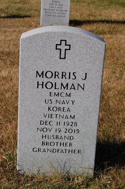 """Morris James """"Jim"""" Holman"""