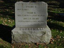 Irene B <I>Curtiss</I> Churchill