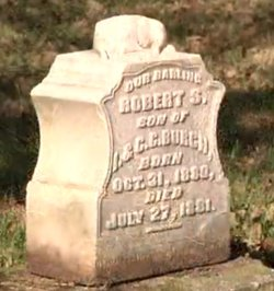 Robert S Burch 1880 1881 Find A Grave Memorial