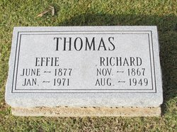 Effie Jane <I>Smith</I> Thomas