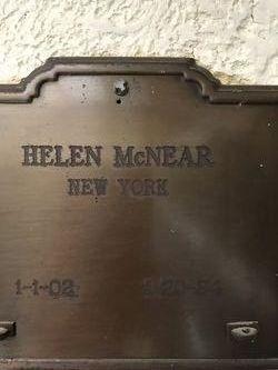 Helen <I>Spats</I> McNear