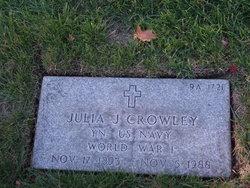 Julia J Crowley