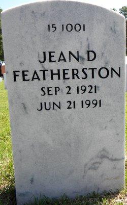 Jean D Featherston