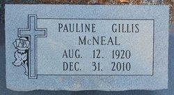 Pauline <I>Gillis</I> McNeal
