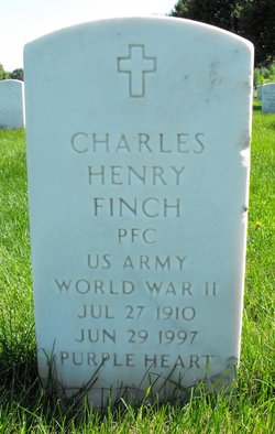 PFC Charles Henry Finch