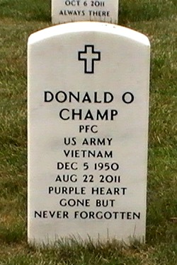 PFC Donald Orley Champ