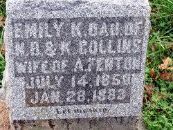 Emily Keziah <I>Collins</I> Fenton