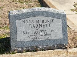 Nora M <I>Burke</I> Barnett