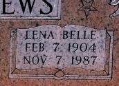 Lena Belle <I>Ellis</I> Andrews