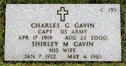 Shirley M Gavin