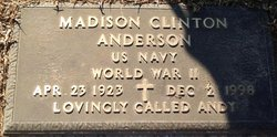 """Madison Clinton """"Andy"""" Anderson"""