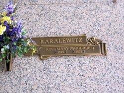 Rose Mary <I>Provencal</I> Woodruff Karalewitz