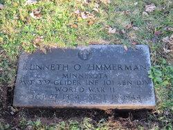 PVT Kenneth O Zimmerman