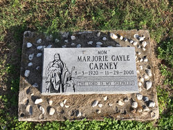 Marjorie Gayle <I>Hill</I> Carney