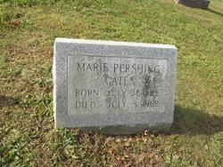 Marie <I>Pershing</I> Gates