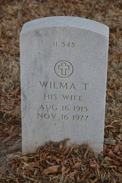 Wilma T Bessent
