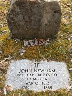 John <I>Newman</I> Newnam, Sr