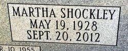 Martha Bell <I>Shockley</I> Morgan