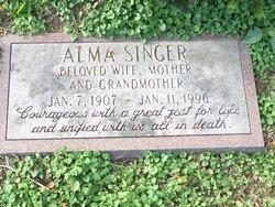 Alma <I>Haimann</I> Singer