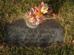 Helen A. <I>Klekacz</I> Brown