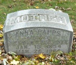 Anna <I>Rapps</I> Boernke