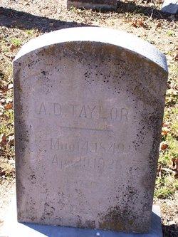Alexander D. Taylor