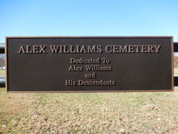 Alex Williams Cemetery