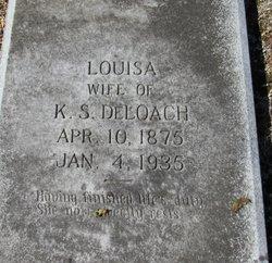 Louisa <I>Wilder</I> DeLoach