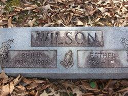 Mrs Esther Wilson