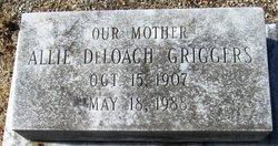 Allie <I>DeLoach</I> Griggers