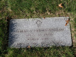 Albert S Crowninshield