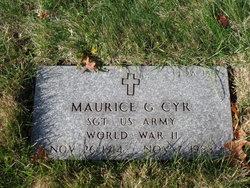 Maurice G Cyr