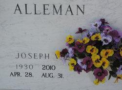 "Joseph V. ""Joe"" Alleman"