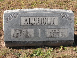 Agnes M. <I>McHugh</I> Albright