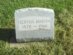 Bertha <I>McCollum</I> Martin