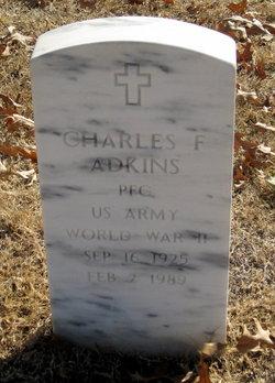 Charles F Adkins