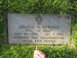 Arland E Bertsch
