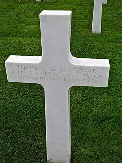 1Lt Thomas A Ksanznak