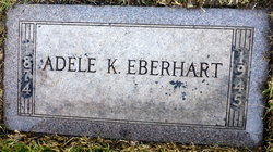 Adele <I>Koke</I> Eberhart
