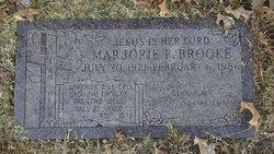 Marjorie F. Brooke